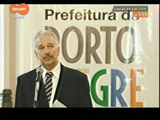 TVCOM 20 Horas - Anunciados mais três secretários do governo de José Ivo Sartori - 19/12/2014