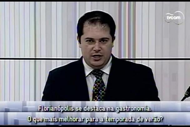 Conversas Cruzadas - Florianópolis se destaca quando o assunto é gastronomia - 2ºBloco - 23.12.14
