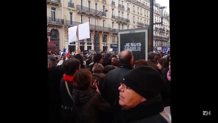 Manifestação atrai milhões na França