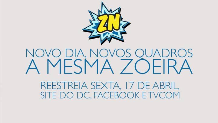 Vem aí o novo Zoeira News!