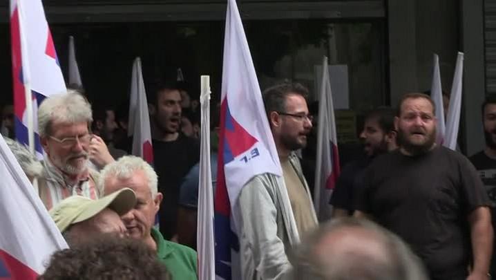 Cresce pressão sobre a Grécia