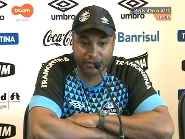 Super TVCOM Esportes - A preparação do Grêmio para a 15ª rodada do Brasileirão