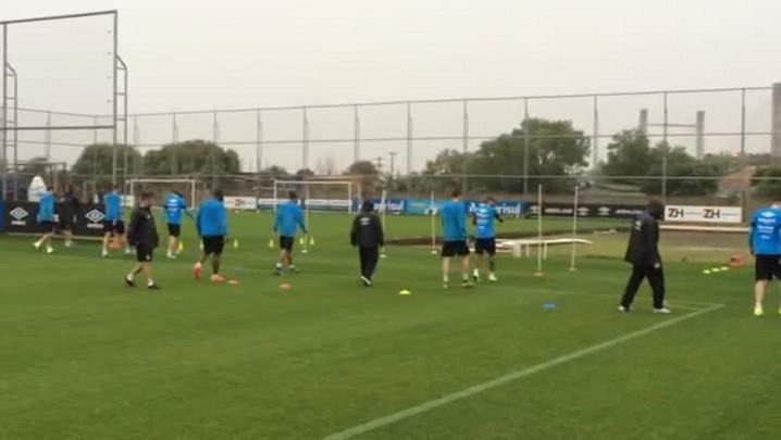 Grêmio volta aos treinos para reta final do Brasileirão