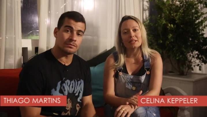 Thiago Martins agita festa em Jurerê e fala sobre a carreira