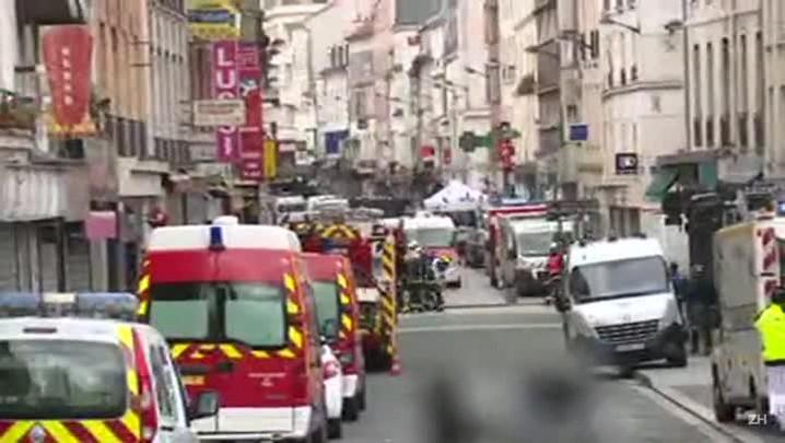 Dois mortos e sete detidos em operação policial em Paris
