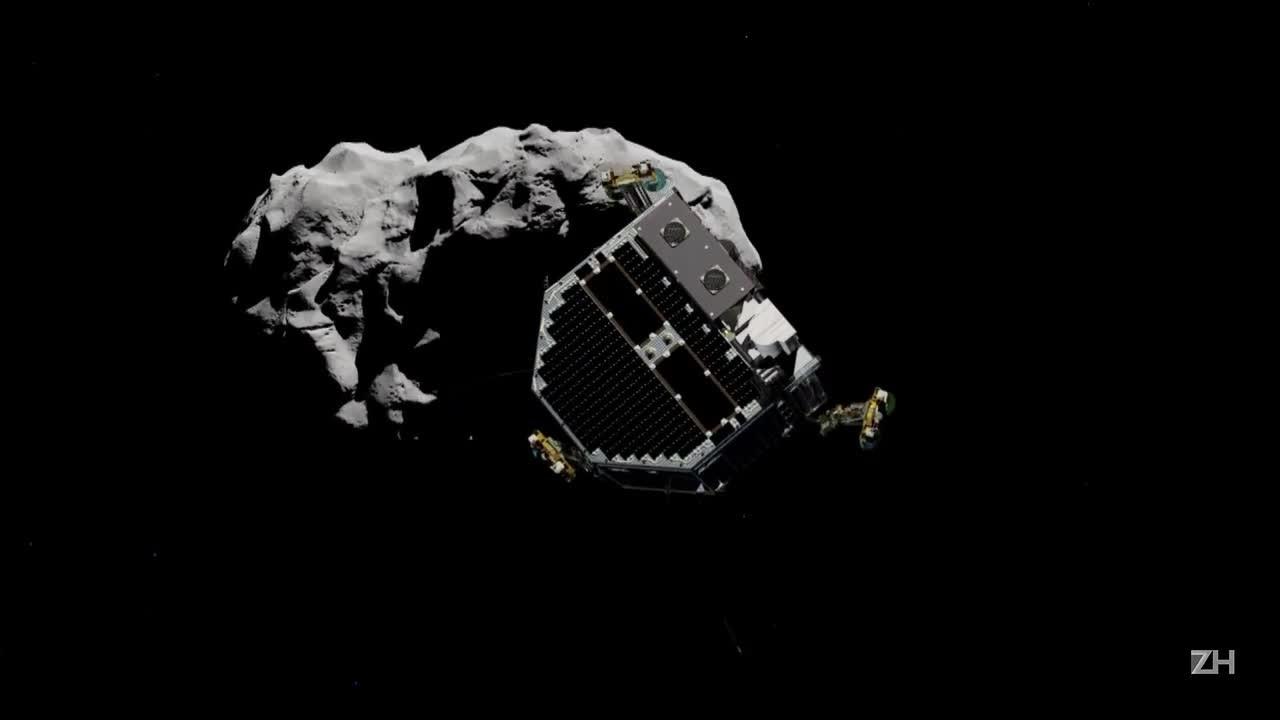 Agência espacial europeia dá adeus ao robô Philae