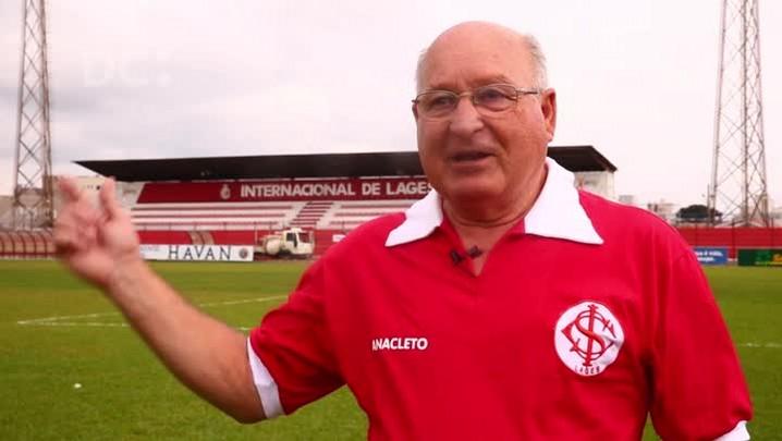 Encontro de gerações: ídolo do passado relembra glórias e atual capitão projeta estreia do Inter de Lages na Copa do Brasil