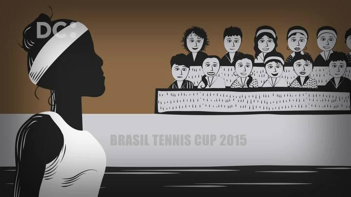 Em 90 segundos, conheça a trajetória da tenista Teliana Pereira