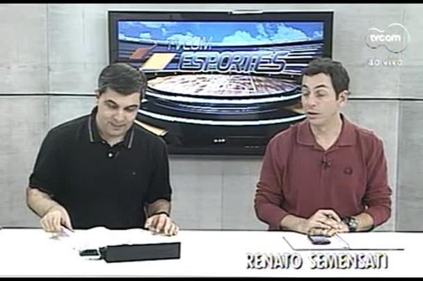 TVCOM Esportes. 1º Bloco. 25.08.16