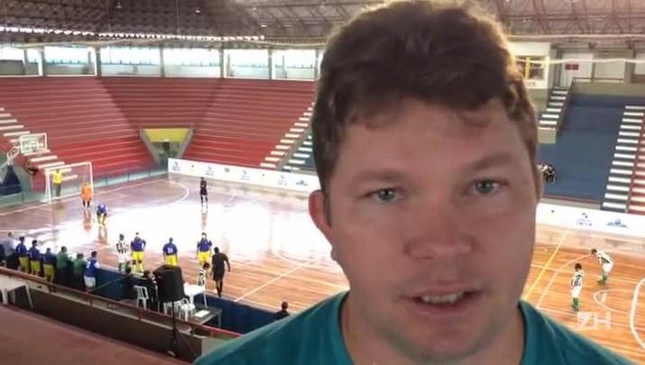 Técnico da seleção brasileira de futebol 5 fala sobre Ricardinho