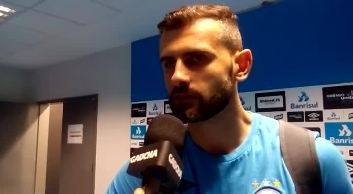 """Bruno Grassi elogia atuação do Grêmio: \""""Hoje a nossa equipe foi espetacular\"""""""
