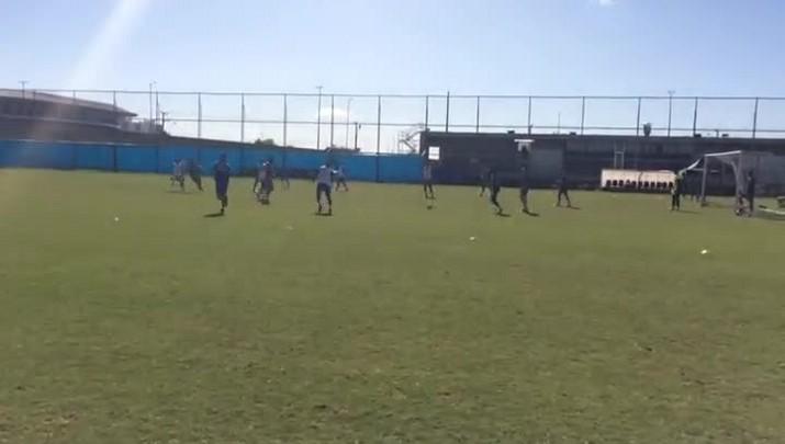 Grêmio faz treino no CT Luiz Carvalho