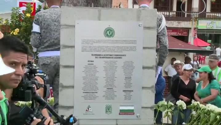 Homenagens um ano depois da tragédia