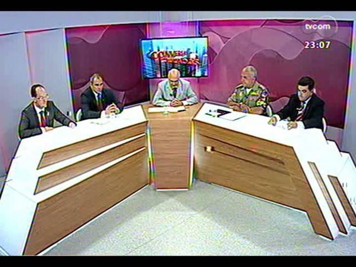 Conversas Cruzadas - Como garantir mais segurança à população? - Bloco 4 - 24/01/2013