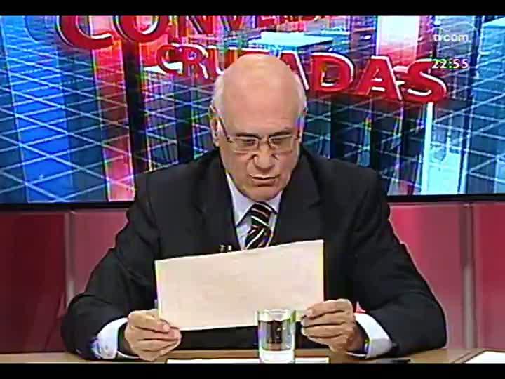 Conversas Cruzadas - Resultado do Enem e os erros graves que foram apurados - Bloco 3 - 19/03/2013