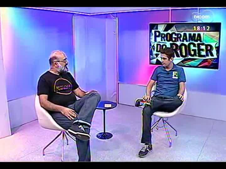 Programa do Roger - Entrevista com Eduardo Argenta, organizador do 3° Dança Porto Alegre - bloco 3 - 11/04/2013