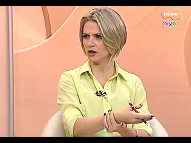 TVCOM 20 Horas - Entrevista com secretário de Segurança Pública, Airton Michels - Bloco 2 - 17/10/2013