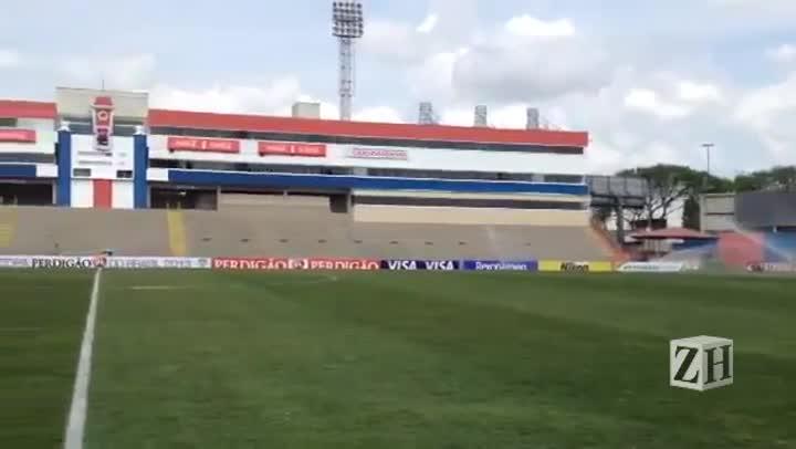 Estádio Durival Britto recebe últimos ajustes para Atlético-PR x Inter