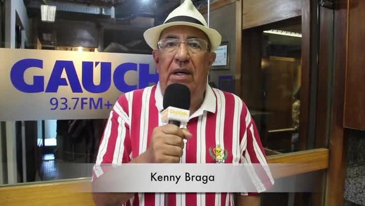"""Kenny Braga: \""""A contratação de Dida surpreendeu, mas torço para que se dê muito bem no Beira-Rio.\"""" 26/12/2013"""