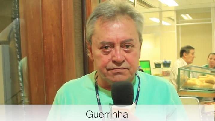 Guerrinha projeta a estreia do Grêmio na Copa Libertadores 2014. 11/02/2014