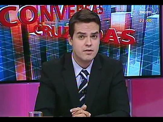 Conversas Cruzadas - Debate sobre como está o clima para receber o mundial no Brasil - Bloco 1 - 28/02/2014