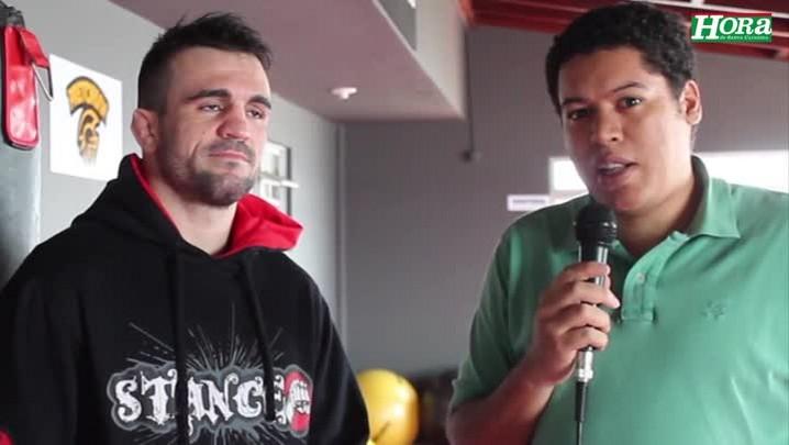 Ricardo Tirloni empolgado para fazer luta principal na Argentina