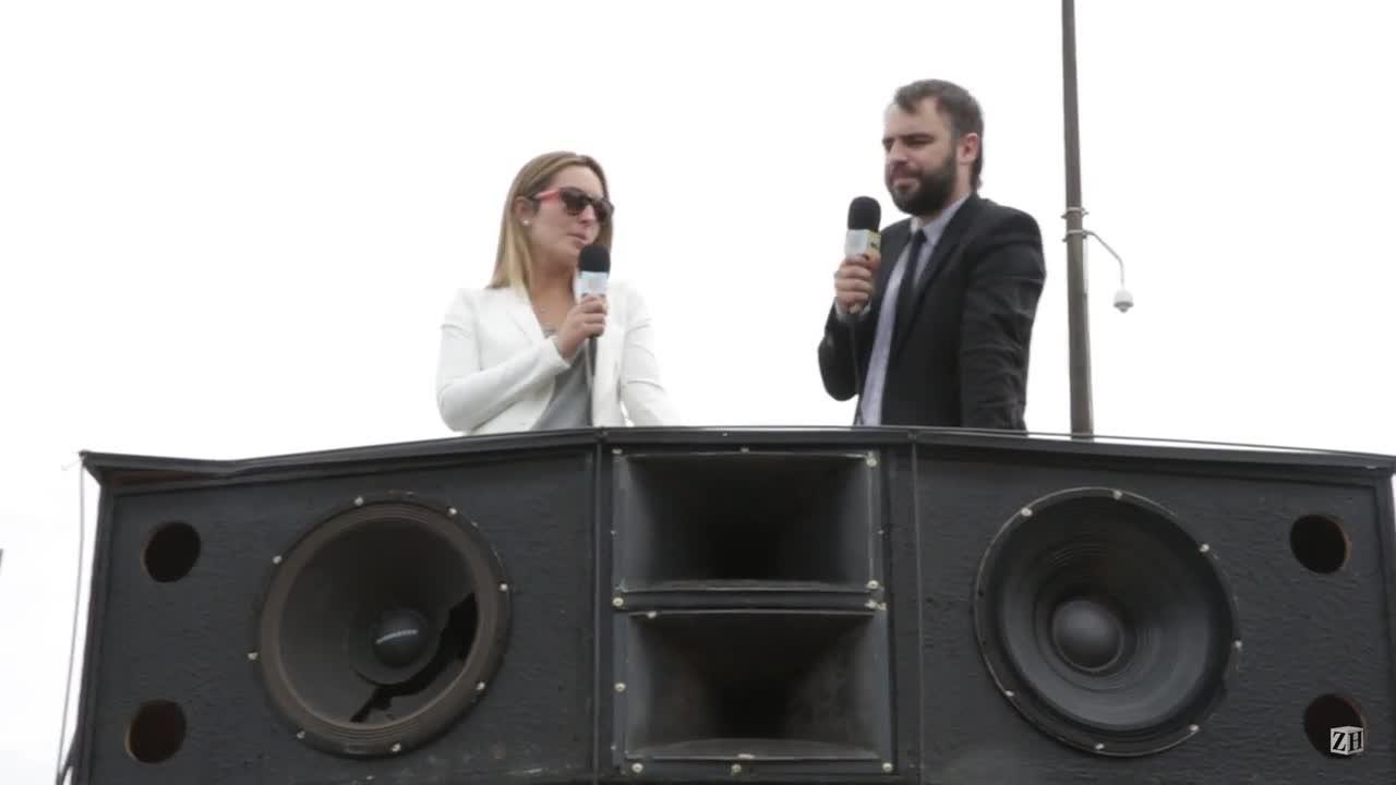 #LaUrna: um carro de som incomoda muita gente