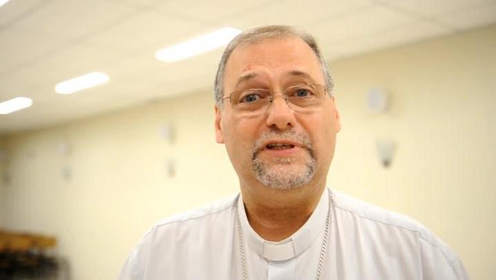 Dom José Negri se despede de Blumenau