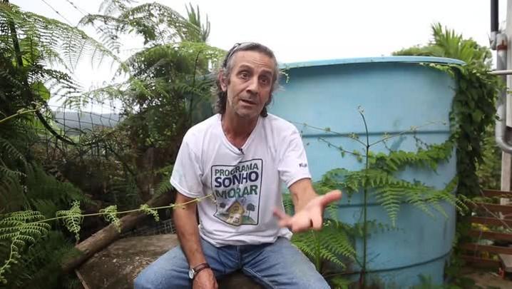 Falta de água na temporada preocupa moradores de Canasvieiras, em Florianópolis