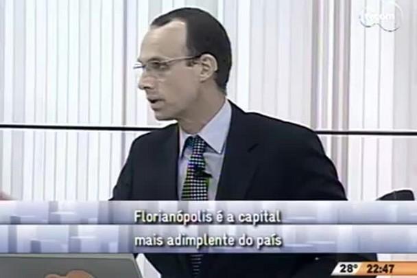 Conversas Cruzadas - Florianópolis é a capital mais adimplente do país - 4º Bloco - 10/11/14