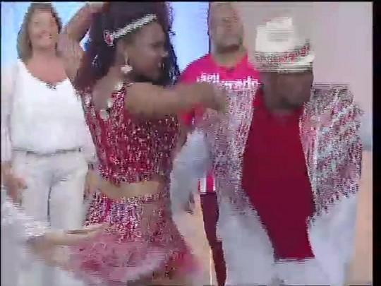TVCOM Tudo Mais - Preparação para o carnaval com Imperadores do Samba