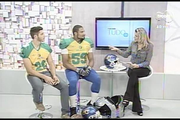 TVCOM Tudo+ - Catarinenses vão disputar o Mundial de futebol americando no berço da NFL - 03.07.15