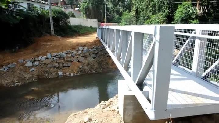 Passarela na Velha Grande será inaugurada em setembro