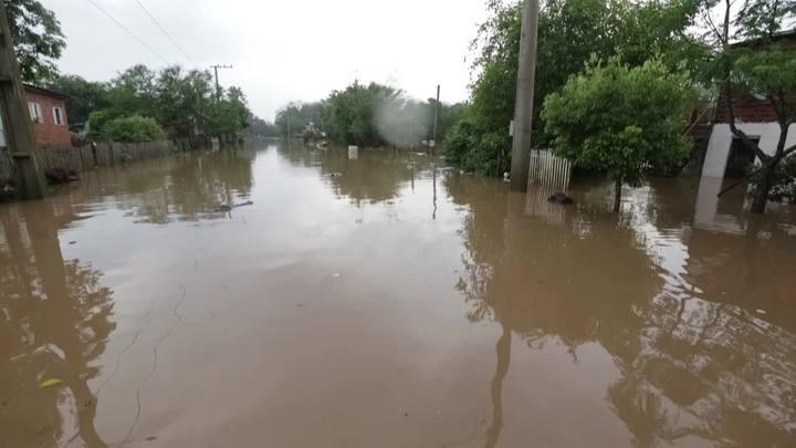 Chuva castiga moradores de Montenegro