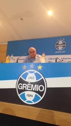 """Romildo Bolzan: \""""Grêmio está no caminho certo\"""""""