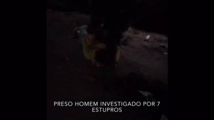 Veja imagens da prisão do suspeito de estuprar 7 mulheres em Gravataí