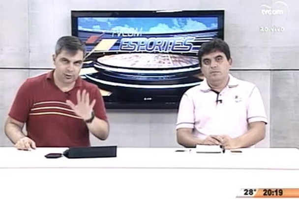 TVCOM Esportes. 4º Bloco. 09.03.16