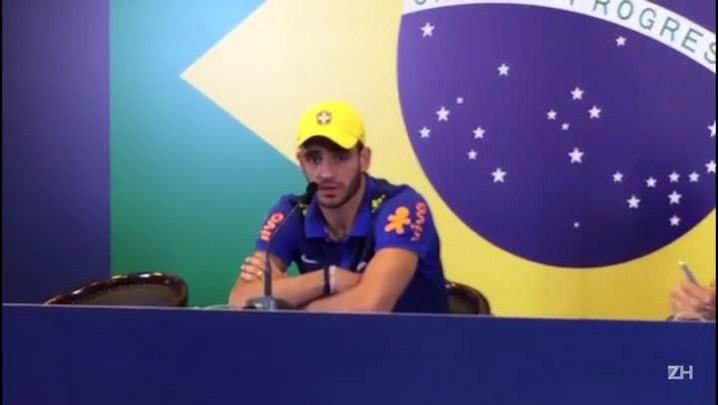 Renato Augusto fala sobre estreia da seleção na Olimpíada