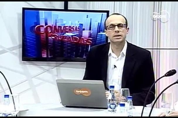 TVCOM Conversas Cruzadas. 3º Bloco. 29.08.16