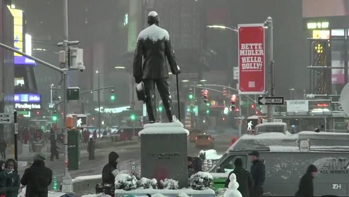 Tempestade de inverno afeta EUA