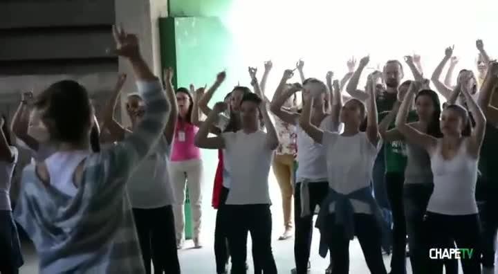 Chape divulga coreografia para torcida no jogo da Recopa