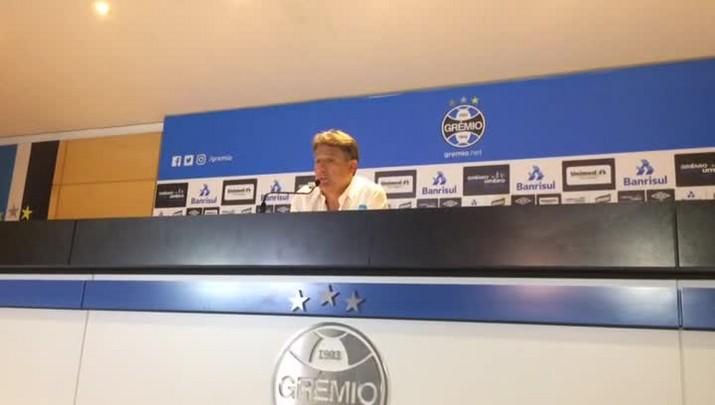 """Renato elogia crescimento do Grêmio em 2017: \""""A evolução foi grande\"""""""