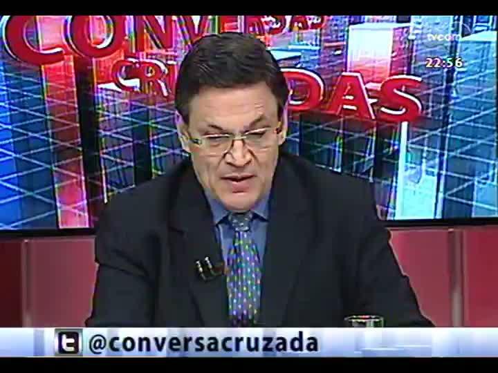 Conversas Cruzadas - Realidade das estradas do RS: motivos pelos quais são tão ruins e possíveis soluções para os problemas - Bloco 3 - 11/03/2013