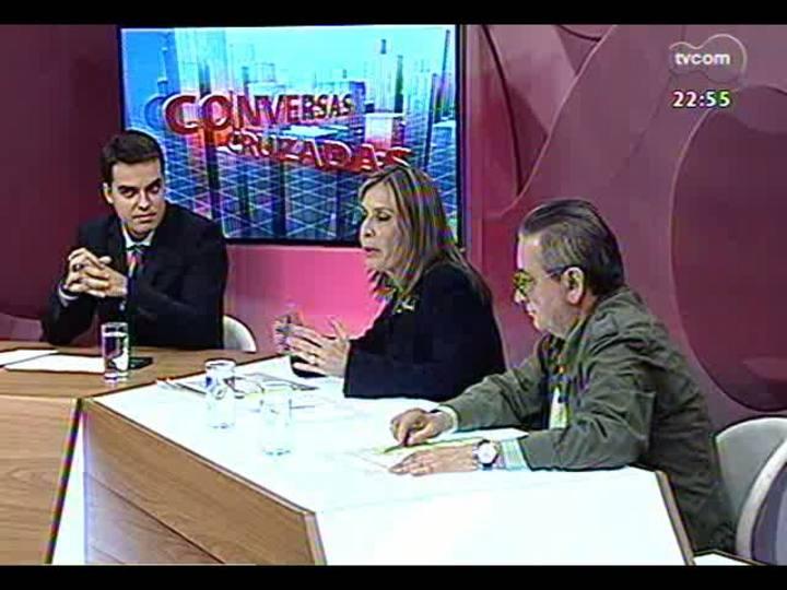 Conversas Cruzadas - Oposição quer CPI para investigar possíveis fraudes na Secretaria do Meio Ambiente de Porto Alegre - Bloco 3 - 02/05/2013