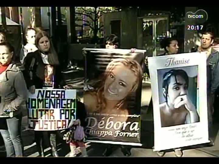 TVCOM 20 Horas - Desembargador explica a concessão da liberdade provisória aos réus no processo de apuração dos responsáveis pela tragédia de Santa Maria - Bloco 2 - 30/05/2013