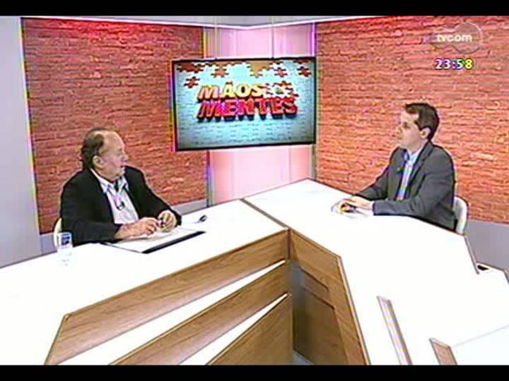 Mãos e Mentes - Jornalista Claudio Dienstmann, que cobriu sete Copas do Mundo - Bloco 3 - 26/06/2013
