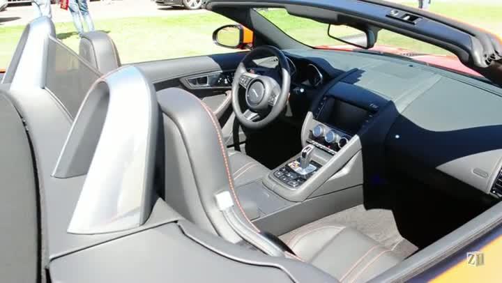 Conheça o Jaguar internacional F-Type