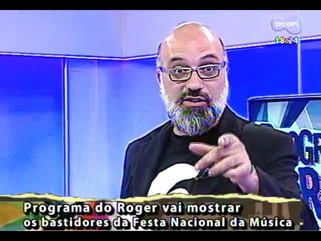 Programa do Roger - \'Brechó do Roger\' com Elza Soares - bloco 4 - 18/10/2013