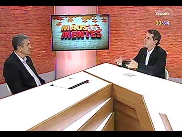 Mãos e Mentes - Cel. Kleber Senisse, coordenador da Câmara Temática de Segurança da Copa do Mundo em Porto Alegre - Bloco 4 - 06/11/2013