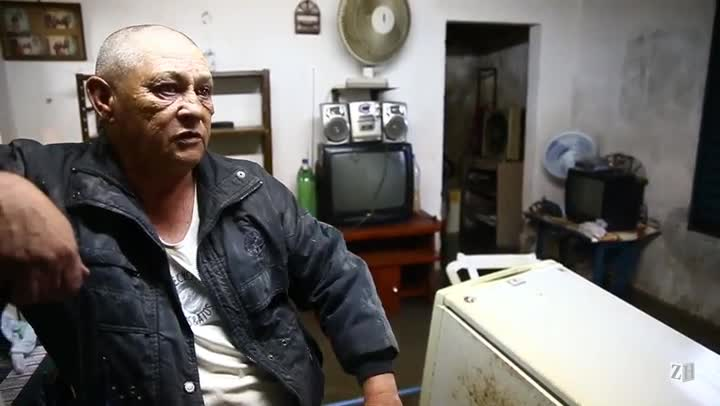 Pedreiro que estampou capa de ZH perde tudo outra vez com enchente